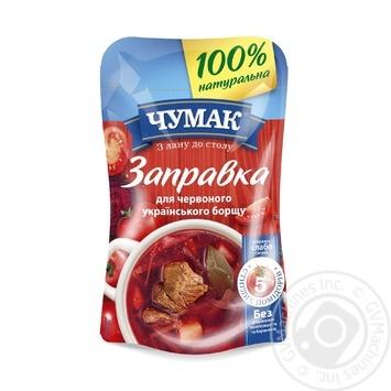 Заправка Чумак для красного украинского борща 240г - купить, цены на Таврия В - фото 1