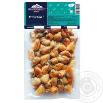 М'ясо мідій Skandinavika 300/500 варено-морожене 200г - купити, ціни на Восторг - фото 1