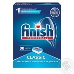 Finish Classic Means for washing dishes in dishwashers in tablets of 90 pieces