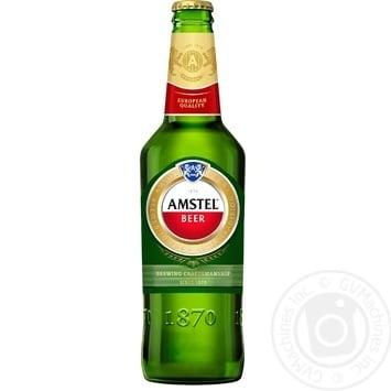 Пиво Amstel світле 5% 0,5л