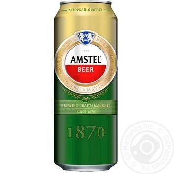 Amstel Light Beer 5% 0,5l