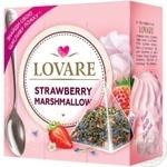 Lovare Strawberry Marshmallow Green Tea in Pyramids 15*2g
