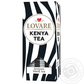 Чай чорний Lovare кенійський байховий 24*2г - купити, ціни на Novus - фото 1