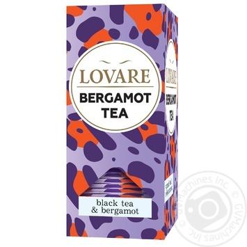 Чай Lovare байховый кенийский с бергамотом и ароматом мандарина 24*2г - купить, цены на Novus - фото 1