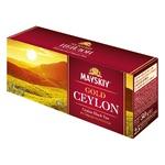 Mayskiy Gold Ceylon black tea 25*2g