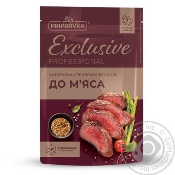 Натуральна приправа без солі для м'яса Exclusive Professional PRIPRAVKA 50г