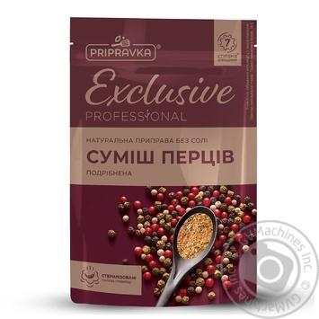 Натуральная приправа без соли Смесь перцев Exclusive Professional PRIPRAVKA 35г
