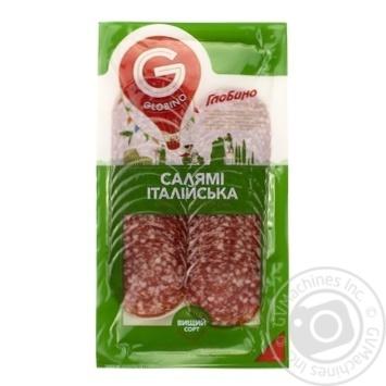 Globino Salami raw smoked sausage 80g - buy, prices for Furshet - image 1