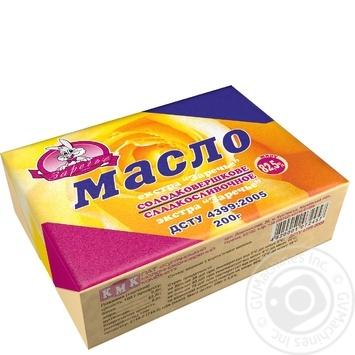 Масло Заречье екстра солодковершкове 82.5% 200г - купити, ціни на Восторг - фото 1