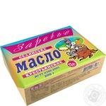 Масло Заречье Селянське солодковершкове 73% 200г Україна