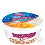 Cottage cheese Zarechye with a raisin chilled 4.5% 400g