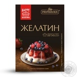 Gelatin Pripravka quick-dissolving for desserts 15g packaged Ukraine