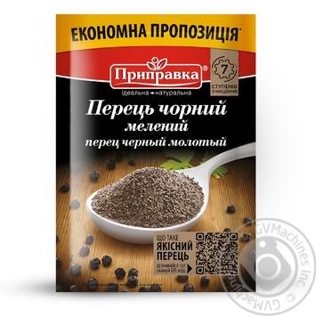 Перець чорний мелений Pripravka 50г - купити, ціни на Novus - фото 1