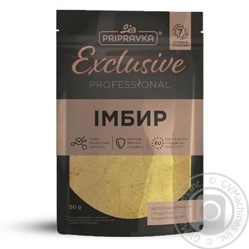ИмбирьPripravka Exclusive Professional 50г - купить, цены на Novus - фото 1