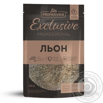 Pripravka Exclusive Professional seeds of flax 100g - buy, prices for Novus - image 1