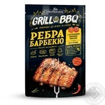Grill&BBQ Pripravka Приправа для мяса и курицы Ребра барбекю с копчеными томатами чили и горчицей 30г