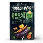 Grill&BBQ Pripravka Приправа для картоплі і овочів Овочі по-італійськи з натуральним сиром Чедер орегано і базиліком 30г