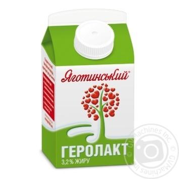 Продукт харчовий кисломолочний Геролакт питний 3.2% Яготинський 500г - купити, ціни на Фуршет - фото 1