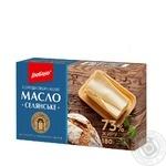 Масло Глобино Селянское сладкосливочное 73% 180г - купить, цены на Фуршет - фото 1