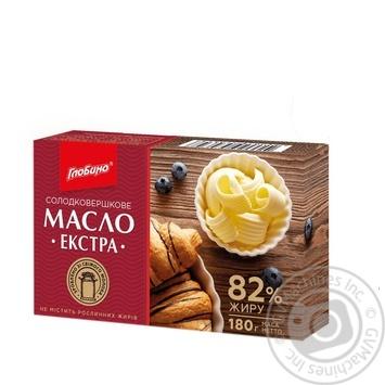 Butter Globino sweet cream 82% 180g - buy, prices for Furshet - image 1
