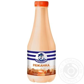 Prostokvashyno fermented baked milk 3.2% 750g