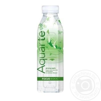Aquarte Focus Functional water with ginseng extract and apple taste 500ml - buy, prices for MegaMarket - image 1