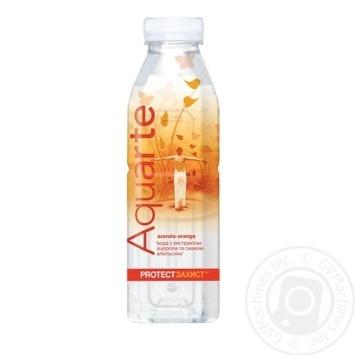 Вода Aquarte Защита с экстрактом ацеролы и вкусом апельсина Aquarte Защита 500мл - купить, цены на Novus - фото 1