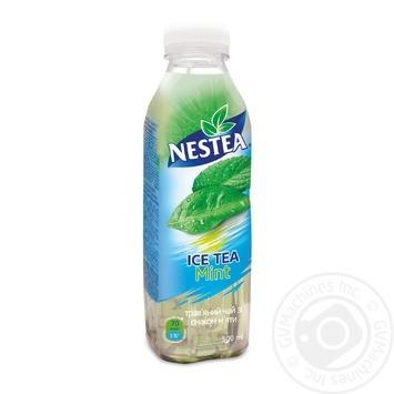 Чай трав'яний холодний Nestea Ice Tea зі смаком м'яти 500мл - купити, ціни на Восторг - фото 1