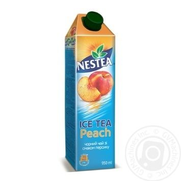 Чай чорний холодний Nestea Ice Tea зі смаком персику 950мл - купити, ціни на Метро - фото 1