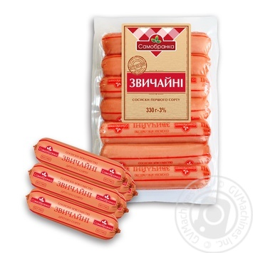 Samobranka with poultry sausages 330g - buy, prices for Furshet - image 1