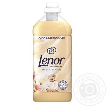 Кондиционер для белья Lenor Миндальное масло для чувствительной кожи 2л - купить, цены на Novus - фото 1