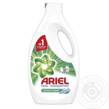 Жидкий стиральный порошок Ariel Горный родник 1.95л=4,5кг - купить, цены на МегаМаркет - фото 1