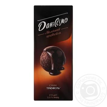 Коктейль молочный Даниссимо со вкусом трюфеля 2,2% 215г - купить, цены на Varus - фото 1