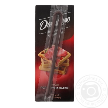Danissimo Milk cocktail Strawberry waffle ultrapasteurized 2.2% 215g - buy, prices for MegaMarket - image 2