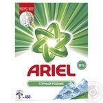 Пральний порошок Ariel Гірське джерело автомат 450г