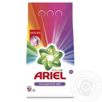 Ariel Color Automat Laundry Powder Detergent 3kg - buy, prices for Novus - image 1