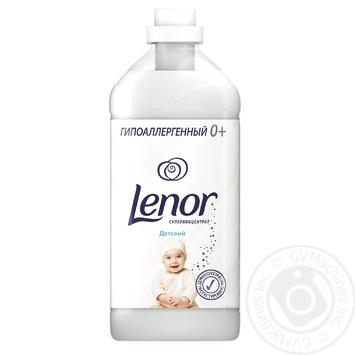 Кондиционер для белья Lenor для чувствительной и детской кожи 2л - купить, цены на Novus - фото 1