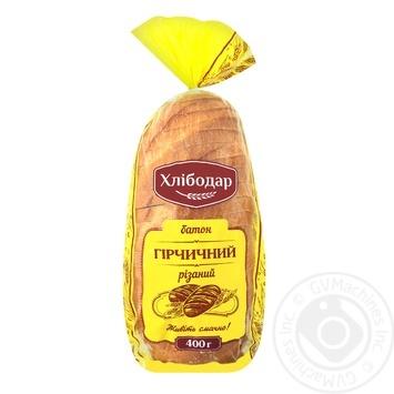Батон Хлібодар гірчичний різаний 400г - купити, ціни на Varus - фото 1