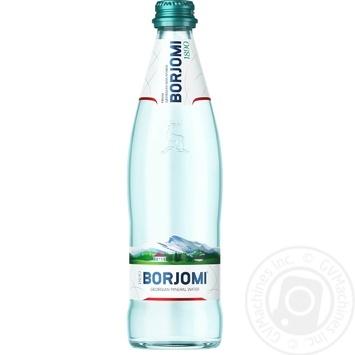 Вода Borjomi мінеральна сильногазована 0,5л - купити, ціни на МегаМаркет - фото 1