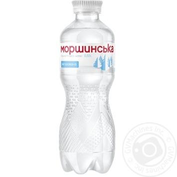 Still natural mineral water Morshynska plastic bottle 330ml Ukraine - buy, prices for Novus - image 1