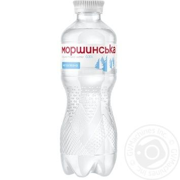 Вода мінеральна Моршинська негазована ПЕТ 0,33л - купити, ціни на Novus - фото 1