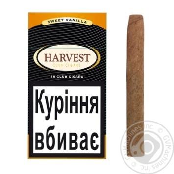 Сигариллы Harvest Club Sweet Vanilla 10шт