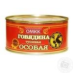 Говядина тушеная Оршанский МК Особенная 325г