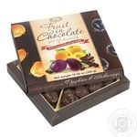 Конфеты Бисквит-Шоколад Фрукти в шоколаде 300г