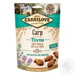 Carnilove Soft Snack Dogs Delicacy with Carp and Thyme 200g