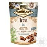Carnilove Soft Snack Dogs Delicacy with Trout and Dill 200g