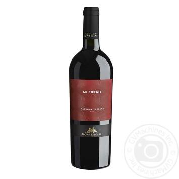 Вино красное Rocca di Montemassi сухое 13.5% 0.75л