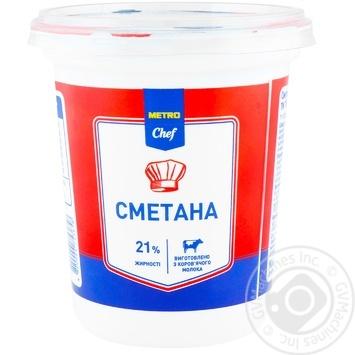 Metro Chef Sour Cream 21% 350g