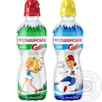 Природная вода Моршинская Спортик негазированная 0,33л - купить, цены на Novus - фото 2