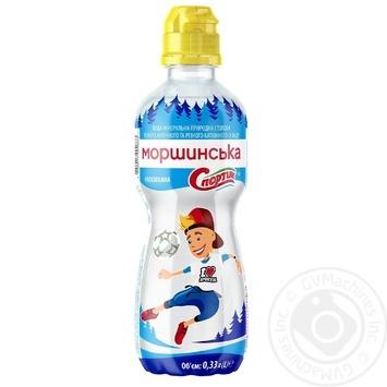 Природная вода Моршинская Спортик негазированная 0,33л - купить, цены на Novus - фото 1